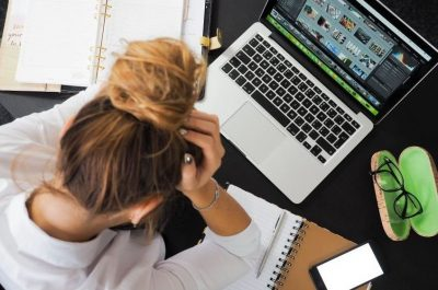 Miedo a suspender los exámenes de un grado superior
